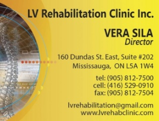 LV Rehabilitation Clinic Inc., Mississauga