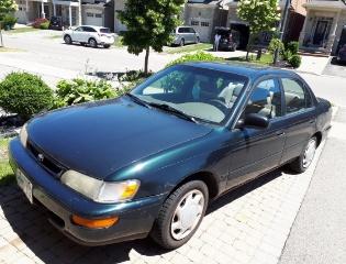 For sale 1997 Toyota Corolla. Automatic.