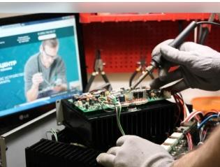 Ремонт электронных приборов.