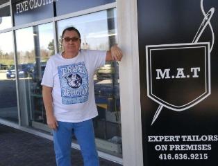 Итальянский магазин мужской одежды MAN ABOUT TOWN
